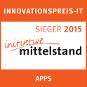 INNOVATIONSPREIS-IT SIEGER 2015 initiative mittelstand APPS