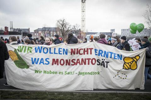 """Demo """"Wir haben Agrarindustrie satt – Essen ist politisch!"""""""