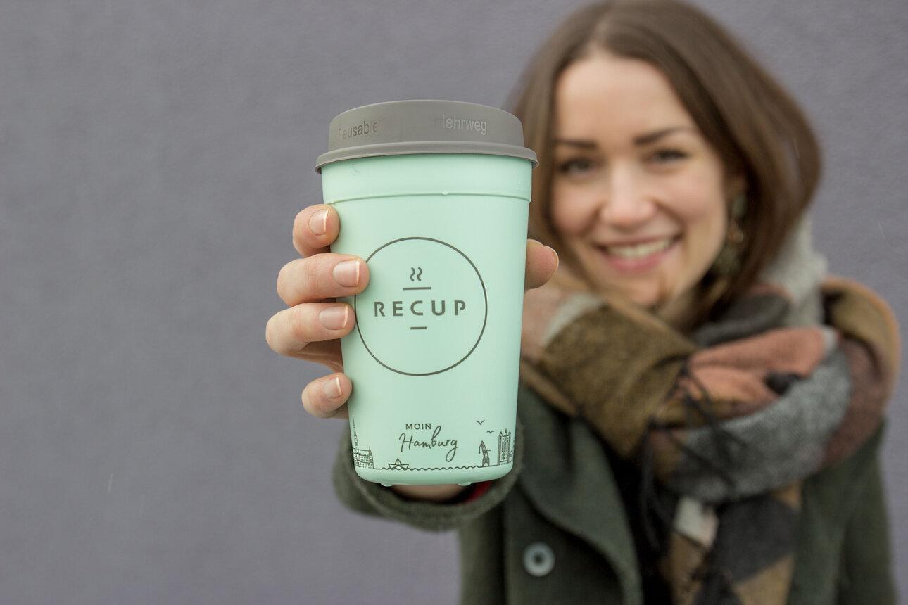 Die Gründer von recup wollen Coffee-to-go ohne schlechtes Gewissen