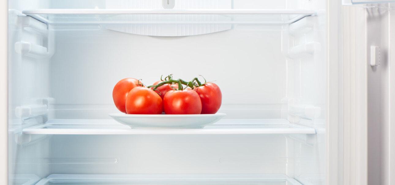 Tomaten verlieren im Kühlschrank an Aroma.