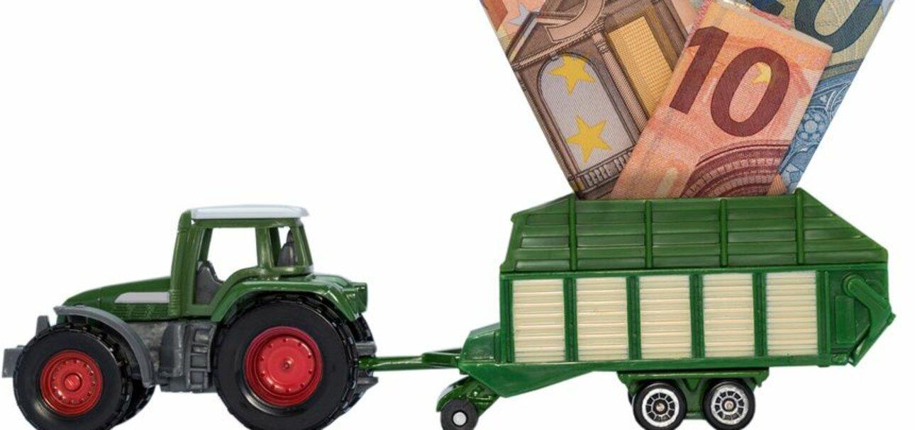 Die Landwirtschaft lebt von Subventionen. Foto/copyright: Raphael Koch - fotolia.de