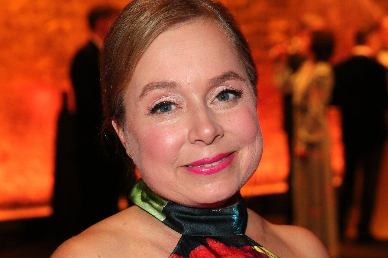 Dr. Hauschka Make-up Beauty Look:  ChrisTine Urspruch bei der Goldenen Kamera Foto: Dr. Hauschka