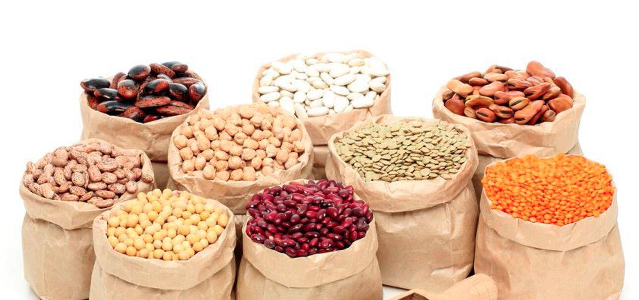 Hülsenfrüchte: Rote, gelbe, grüne und braune Vielfalt