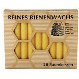 Bienenwachs-Baumkerzen